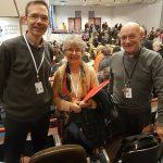 Parmi les invités des évêques à Lourdes : Geneviève, pour le diocèse de Nice