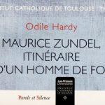Maurice Zundel, itinéraire d'un homme de foi, par Odile Hardy