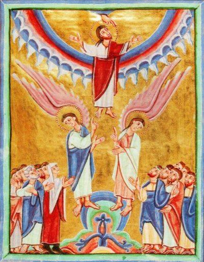 L'Ascension - Abbaye d'Echternach, 11è S